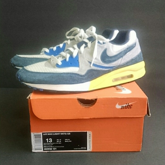 sale retailer f7aa6 730d8 Nike Air Max Light Vintage QS Men s Size 13. M 5a61305161ca10ed228b41bc